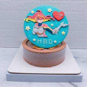傳說對決造型蛋糕推薦,若伊生日蛋糕宅配作品分享
