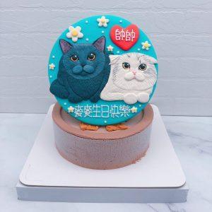 貓咪造型蛋糕推薦,寵物客製化生日蛋糕宅配