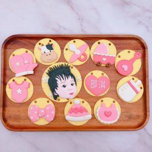寶寶人像收涎餅乾推薦,台北客製化收涎餅乾宅配