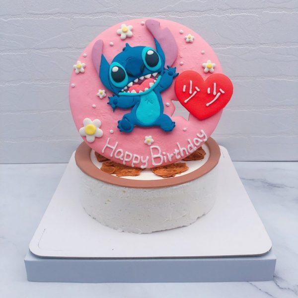 史迪奇造型蛋糕推薦,台北客製化卡通生日蛋糕宅配