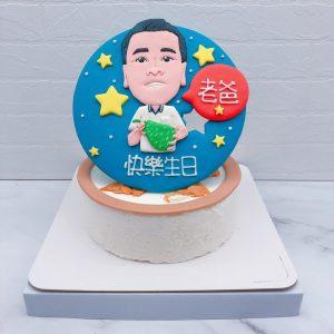 Q版人像造型蛋糕推薦,客製化照片生日蛋糕宅配