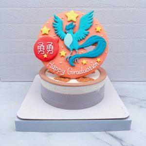 寶可夢生日蛋糕推薦,急凍鳥造型蛋糕宅配