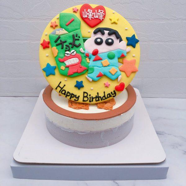 蠟筆小新生日蛋糕推薦,客製化造型蛋糕宅配分享
