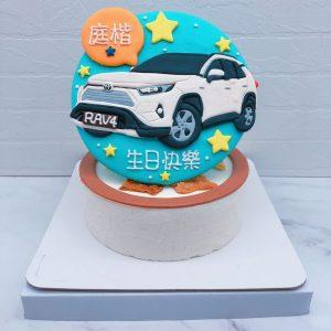 TOYOTA汽車造型蛋糕推薦 ,客製化車子生日蛋糕宅配