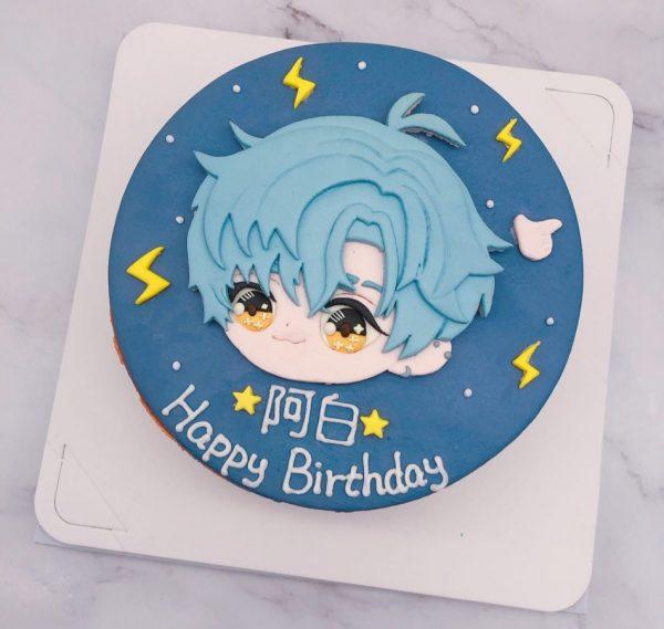 凌肖生日蛋糕推薦,戀與製作人造型蛋糕分享