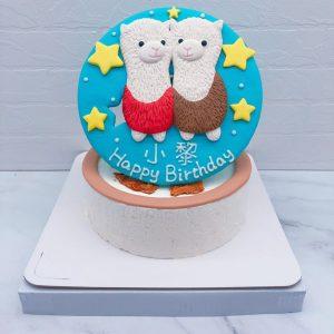 草尼馬生日蛋糕推薦,客製化動物造型蛋糕宅配