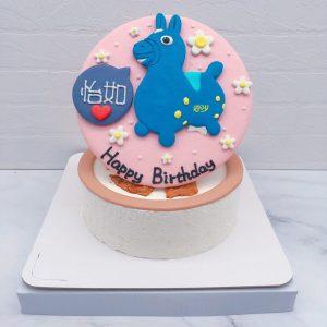 RODY跳跳馬造型蛋糕推薦,客製化造型蛋糕宅配