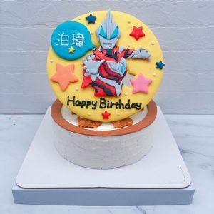 超人力霸王造型蛋糕推薦,捷德生日蛋糕作品分享