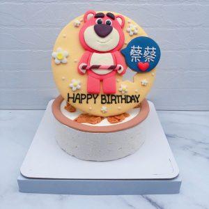 客製化熊抱哥造型蛋糕推薦,玩具總動員生日蛋糕宅配